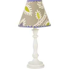 """Periwinkle Standard 19"""" H Table Lamp with Empire Shade"""