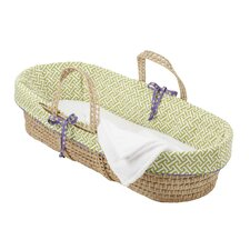 Periwinkle Boy Moses Basket