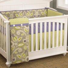 Periwinkle 4 Piece Crib Bedding Set