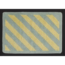 Slow Poke Stripe Kids Area Rug