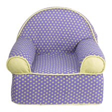 Periwinkle Kids Cotton Foam Chair