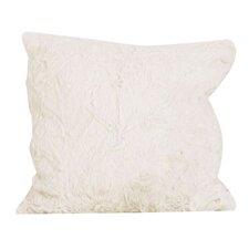 Faux Rabbit Fur Throw Pillow