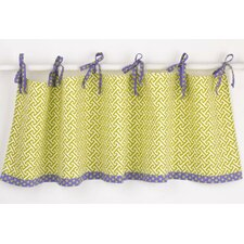 "Periwinkle 50"" Curtain Valance"
