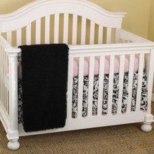 Girly 3 Piece Crib Bedding Set