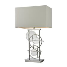 """10"""" H Table Lamp with Rectangular Shade"""