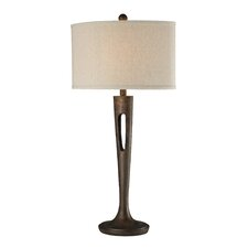"Martcliff 35"" H Table Lamp with Drum Shade"