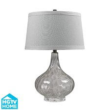 """HGTV Home 24"""" H Table Lamp with Empire Shade"""