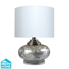 """HGTV Home 19.5"""" H Table Lamp with Drum Shade"""