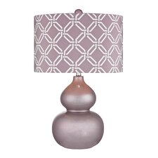"""22"""" H Table Lamp with Drum Shade"""