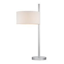 """24.5"""" H Table Lamp with Drum Shade"""