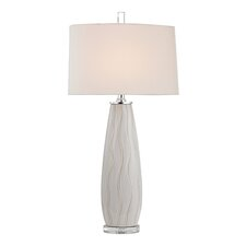"34.75"" H Table Lamp with Empire Shade"