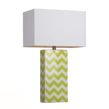 "HGTV Home 26"" H Table Lamp with Rectangular Shade"