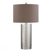 """HGTV Home 30.75"""" H Table Lamp with Drum Shade"""