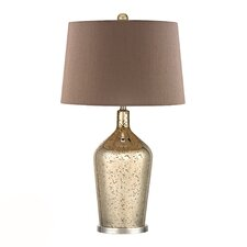 """HGTV Home 27"""" H Table Lamp with Empire Shade"""