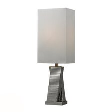 "HGTV Home 30"" H Table Lamp with Rectangular Shade"