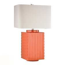 "HGTV Home 28"" H Table Lamp with Rectangular Shade"