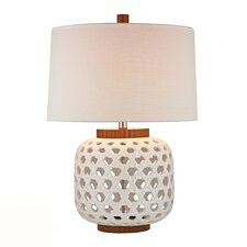 "HGTV Home 26"" H Table Lamp with Empire Shade"