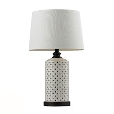 "HGTV Home 23"" H Table Lamp with Empire Shade"