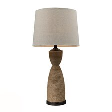 "HGTV Home Voyage 32"" H Table Lamp with Empire Shade"