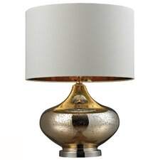 "HGTV Home 26"" H Table Lamp with Drum Shade"