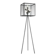 "Workshop Cube 66"" Tripod Floor Lamp"