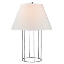 """Barrel Frame 24"""" Table Lamp with Empire Shade"""