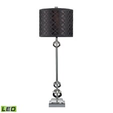 "Chamberlain 29"" H Table Lamp with Drum Shade"