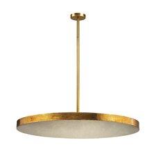 Laigne 4 Light Disc Pendant In Gold Leaf