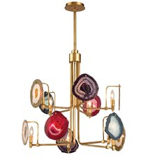 Gallery 10 Light Candle Chandelier