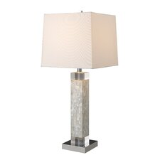 "Luzerne 32"" H Table Lamp with Square Shade"