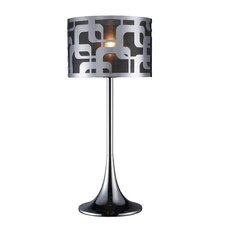 """Blawnox 24"""" H Table Lamp with Drum Shade"""