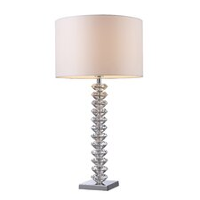 """Modena 30"""" H Table Lamp with Drum Shade"""