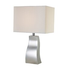 "Trendsitions Keyser 18"" H Table Lamp with Rectangular Shade"