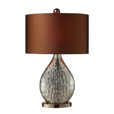 """Sovereign 23"""" H Table Lamp with Drum Shade"""