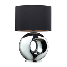 """Tobermore 25"""" H Table Lamp with Drum Shade"""