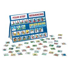 4 Step Sequencing Tabletop Pocket Chart