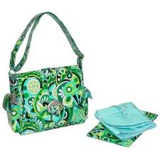 Midi Coated Buckle Diaper Bag
