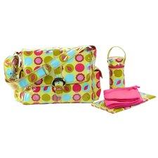 Laminated Buckle Diaper Bag Set
