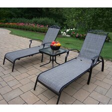 Cascade 3 Piece Lounge Seating Set
