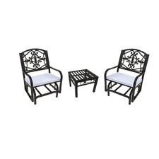 Lakeville 3 Piece Dining Set with Cushions