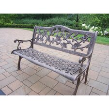 English Rose Aluminum Garden Bench