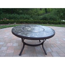 """Stone Art 44"""" Chat Coffee Table"""
