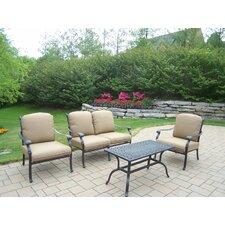 Hampton 4 Piece Deep Seating Group Set