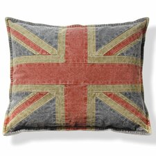 Union Jack Cotton Throw Pillow (Set of 2)