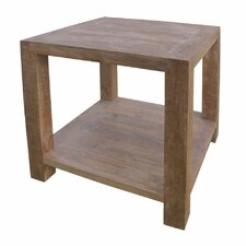 "40"" Square End Table"
