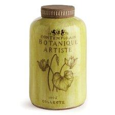 Botanique Artiste Decorative Jar with Lid