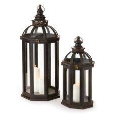 Williamsburg Chapelle 2 Piece Lanterns Set