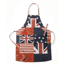 Stars and Stripes Cotton Patriotic Apron (Set of 2)