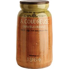 Parisienne Decorative Tall Canister with Lid