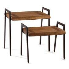 Connor 2 Piece End Table Set (Set of 2)
